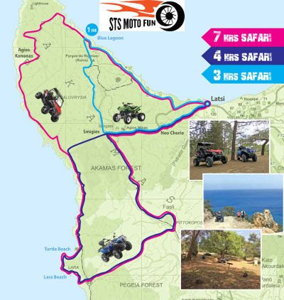 Polis Cyprus Quads for Rent Latchi